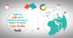 How to Write Shit People Actually Want to Read